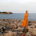 Mallorca, Spain (2) - Yellow dress in Portocolom