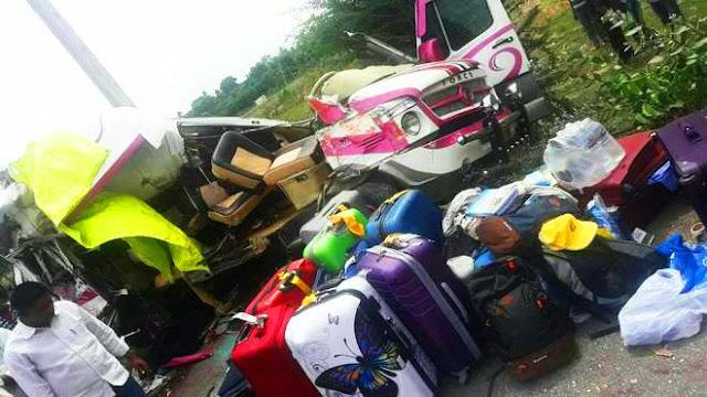 Lo españoles muertos en el accidente del minibús de La India (4) eran voluntarios de la Fundación Vicente Ferrer