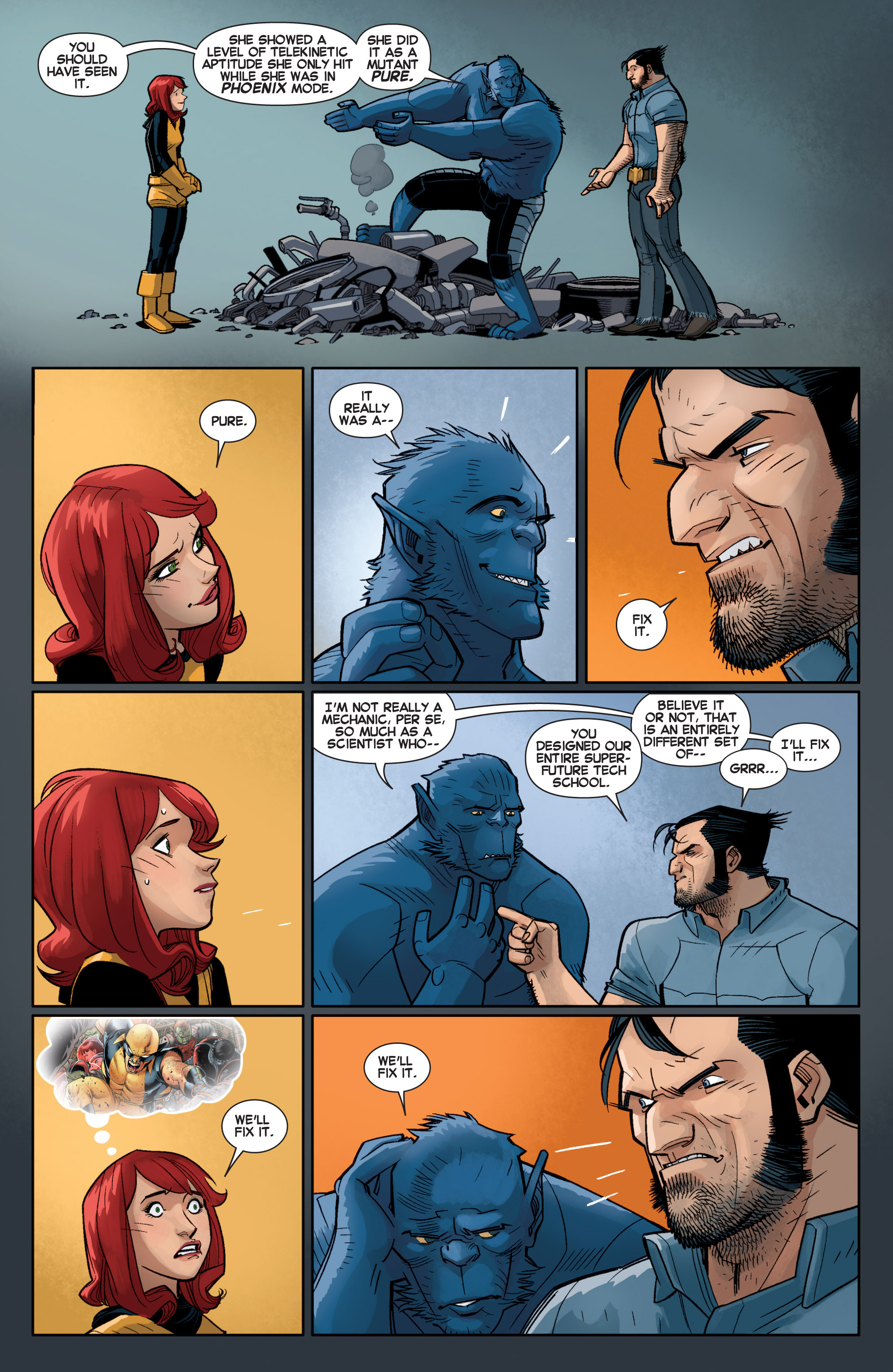 Read online All-New X-Men (2013) comic -  Issue # _Special - Out Of Their Depth - 97