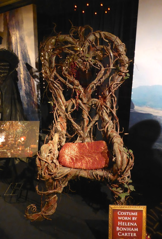 Alice Through the Looking Glass Red Queen throne prop