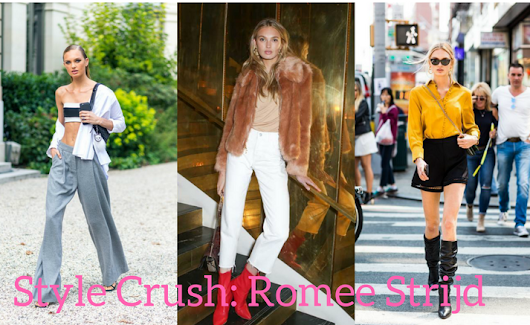 March Style Crush: Romee Strijd