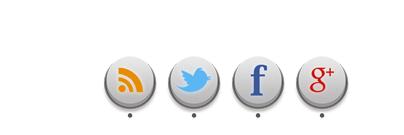 اضافة  أيقونات مواقع التواصل الاجتماعي الي مدونتك بشكل احترافي