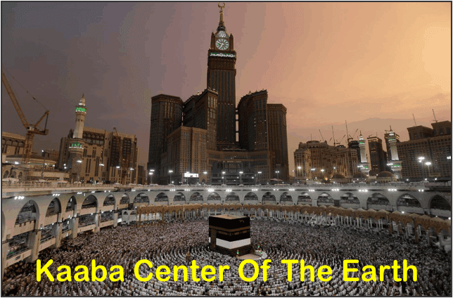 Is It True That Kaaba Center Of The Earth