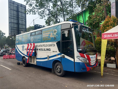 Perpanjang SIM Anda Hari Ini, Berikut Lokasi SIM Keliling Polda Banten, dan biaya perpanjangan SIM A dan SIM C
