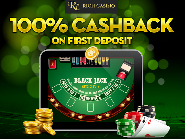 Rich Casino 100% Cash Back | Blackjack and Slots