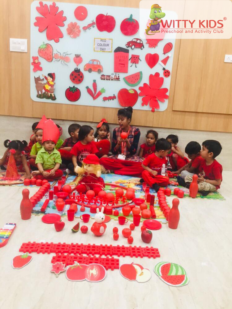 On the top of the World   : Red Colour Day celebrated by