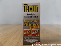 CarPlan T-Cut Headlight Restoration Kit Regenerator reflektorów