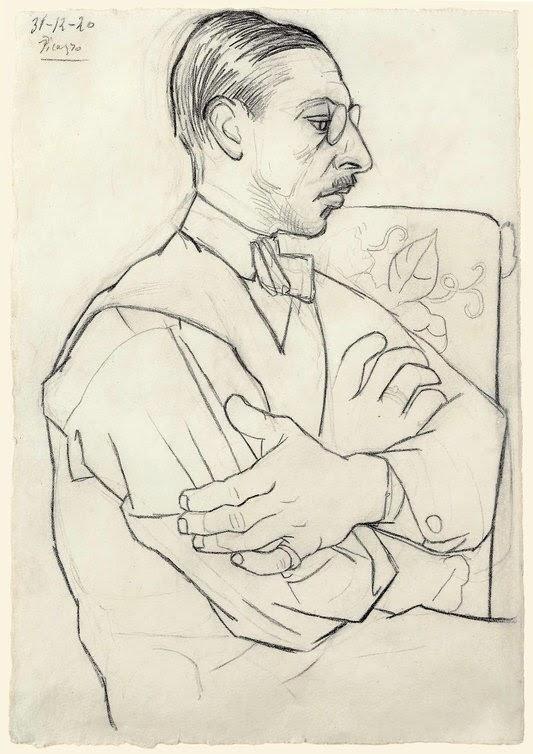 Stravinsky por Picasso