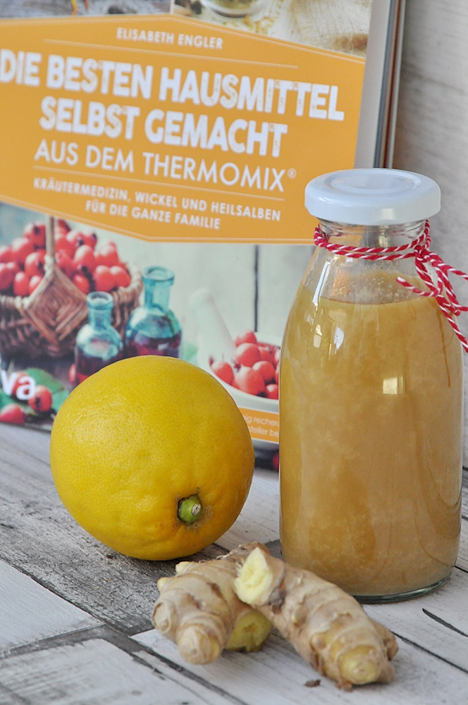 Rezept ingwer zitronen sirup erkältungen vorbeugen