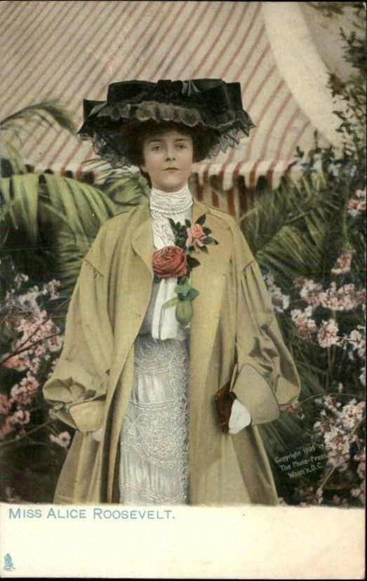 Miss Alice Roosevelt. Travel to Asia