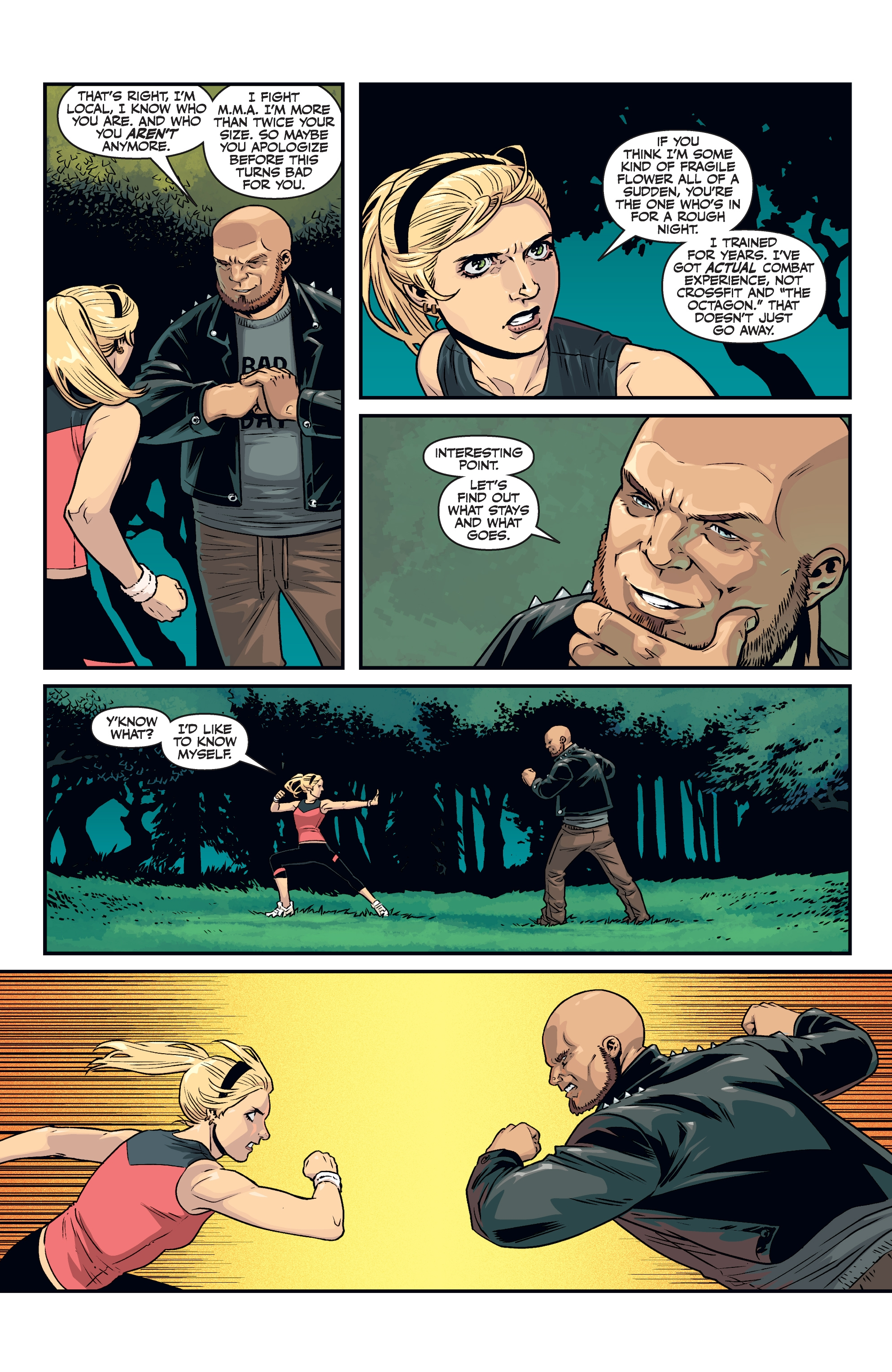 Read online Buffy the Vampire Slayer Season 11 comic -  Issue #8 - 7