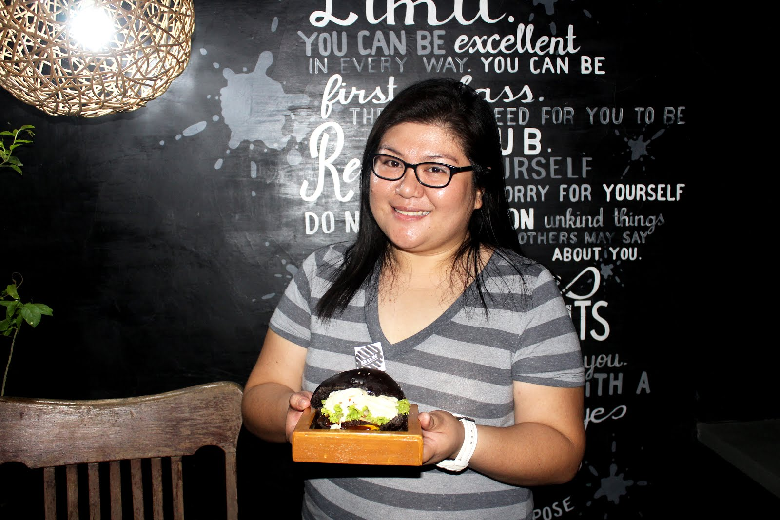 BnB's tireless owner shares her recipe for success Food, Burger, Jamie Divinigracia, BnB Burger, Charcoal Burger, Social Media, Iloilo, #MillennialMaverhick, Brand, Creative, Creativity, Dining, Tourism