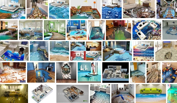 Kumpulan Foto Gambar Wallpaper HD Motif Lantai 3D Rumah Mewah Paling Keren