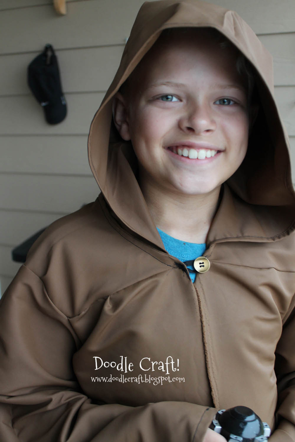 handmade teen cosplay star wars jedi robes perfect for sci-fi conventions