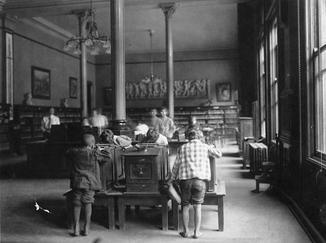 La antigua biblioteca de Cincinnati