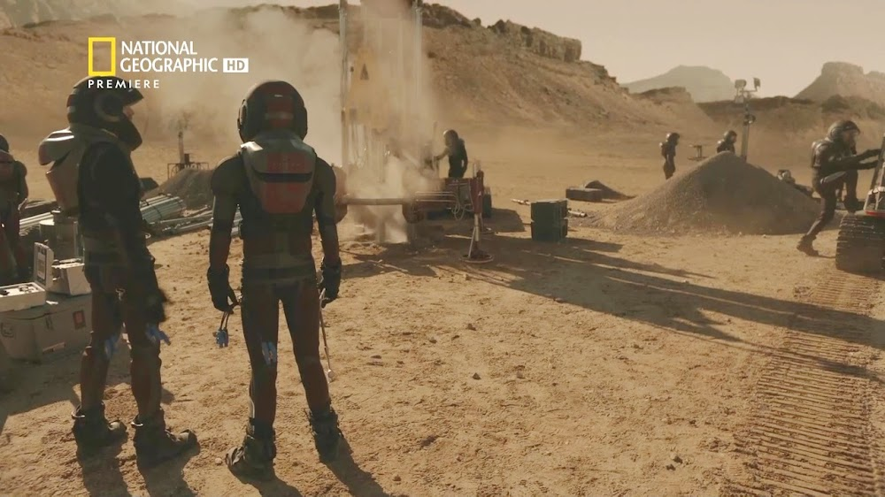 National Geographic MARS - episode 5, season 2 (mining site)