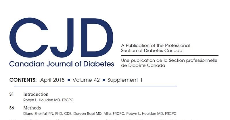 guías de práctica clínica diabetes ada journal