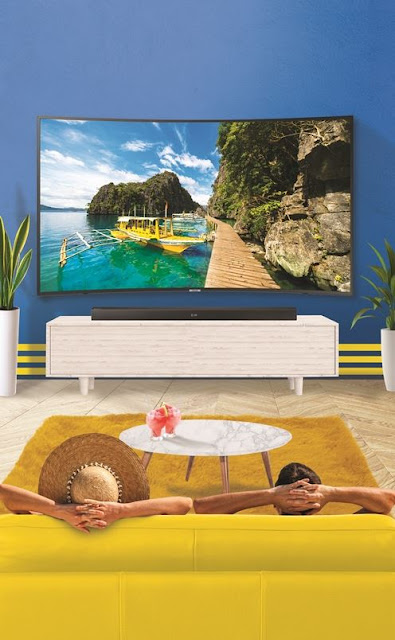 Upgrade your home TV viewing experience with Samsung's affordable UHD TV + Soundbar bundle promo