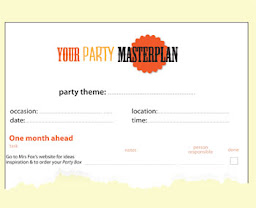 FREE Party Planning Documents to Download
