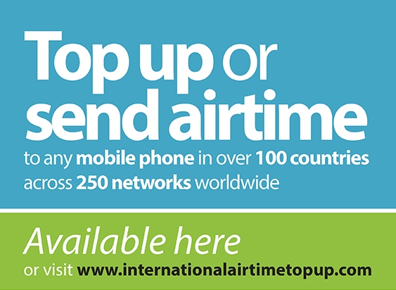 International AirTime Top Up