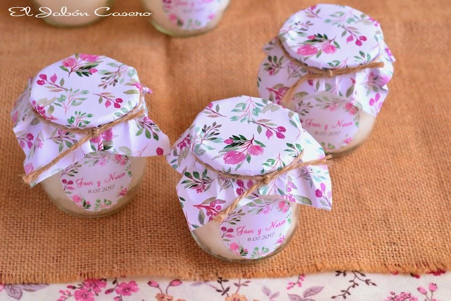 detalles regalos para invitados velas artesanales perfumadas