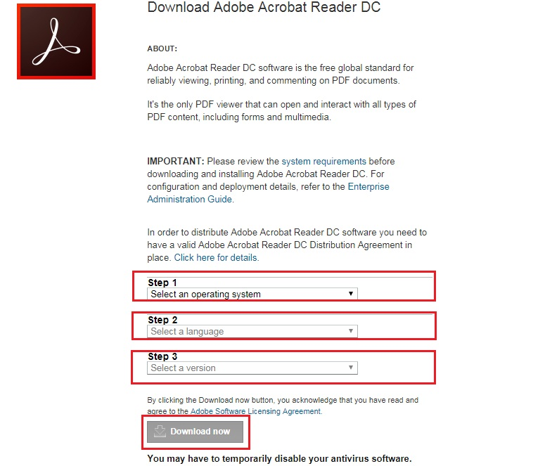adobe acrobat reader download for windows 10