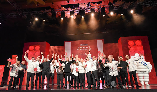 Singapore Michelin Guide ceremony