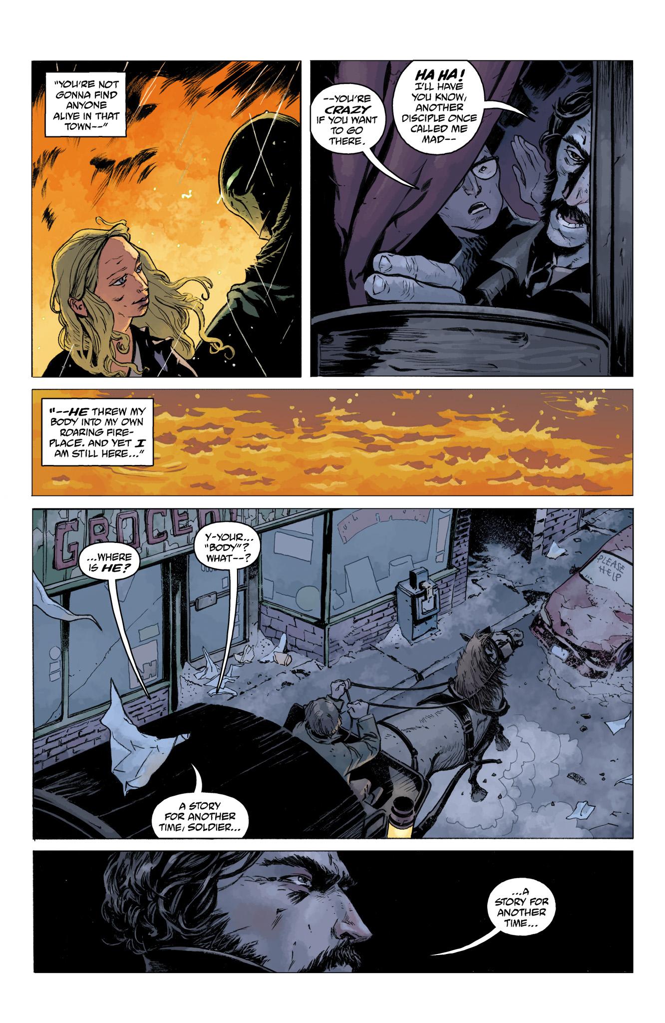 Read online Abe Sapien comic -  Issue #10 - 5
