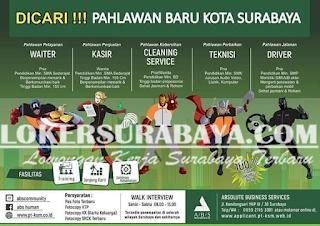 Dicari Pahlawan Baru Kota Surabaya Untuk Absolute Business Service Terbaru Mei 2019