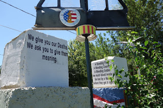 The Junkyard Outsider Art Park Mason City Iowa Vietnam Memorial