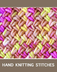 Learn Criss Cross Twist Pattern with our easy to follow instructions at HandKnittingStitches.com