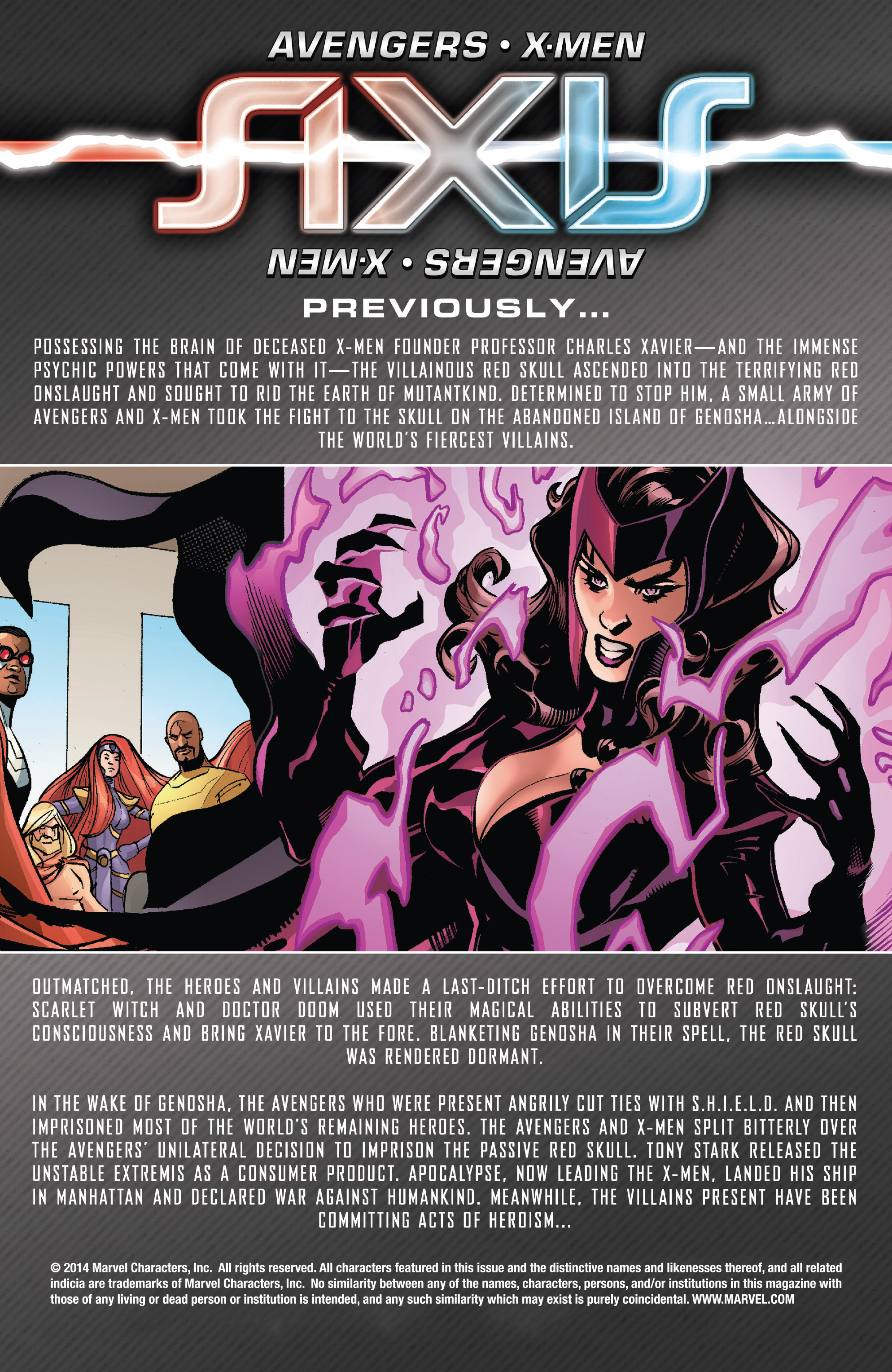 Read online Avengers & X-Men: AXIS comic -  Issue #6 - 2