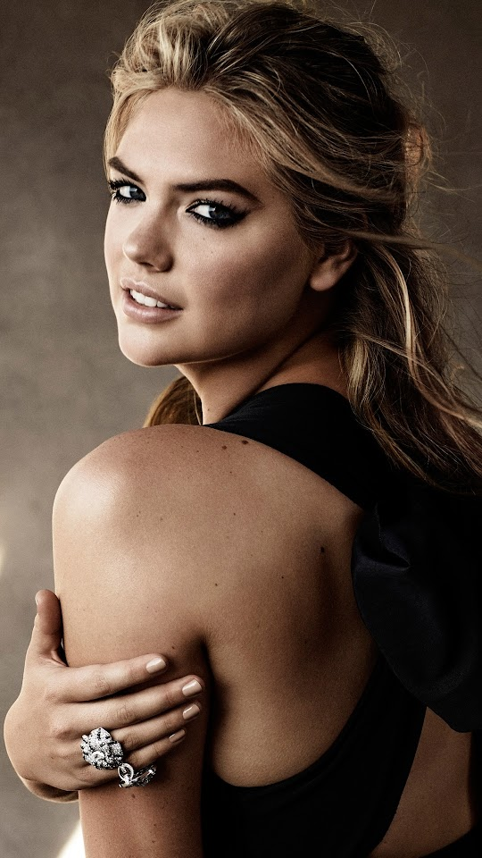 Android Best Wallpapers: Kate Upton Harpers Bazaar AU 2015 Android
