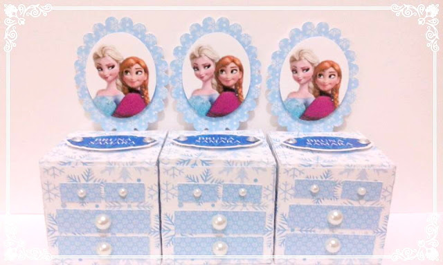 Frozen Free Printable Marquise Box.