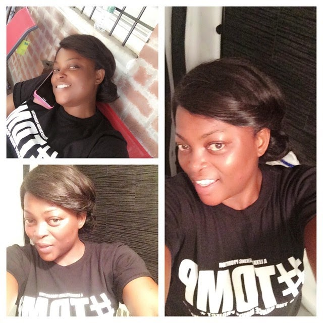 funke akindele no makeup