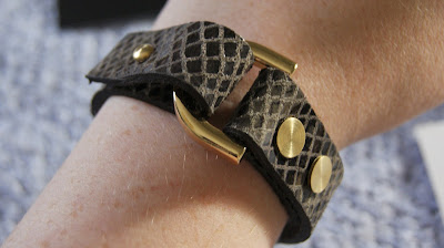 Ella Valentine Leather Bracelet Bologna