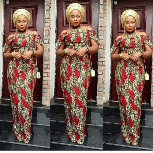 Simplicity is Bae! Latest Ankara Long Gown Styles You Shouldn\'t Miss ...