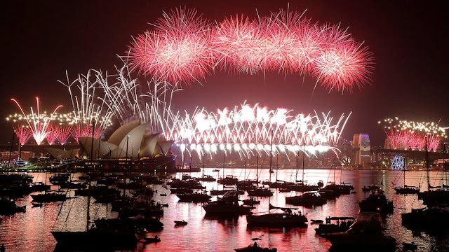 Photos: New year celebrations around the world