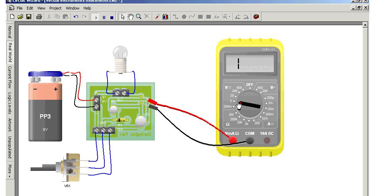 Circuit Diagram Circuit Simulator Circuit Wizard Circuit Maker - Fav