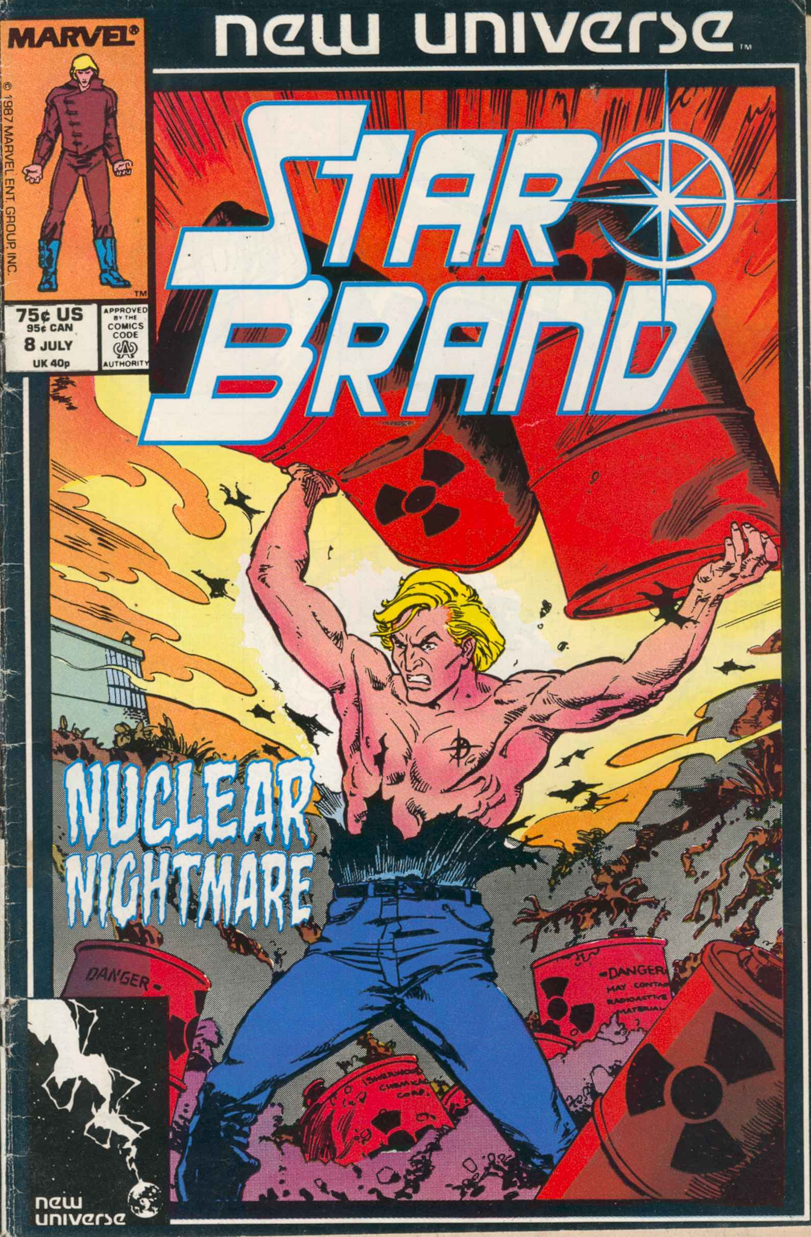 Read online Star Brand comic -  Issue #8 - 1