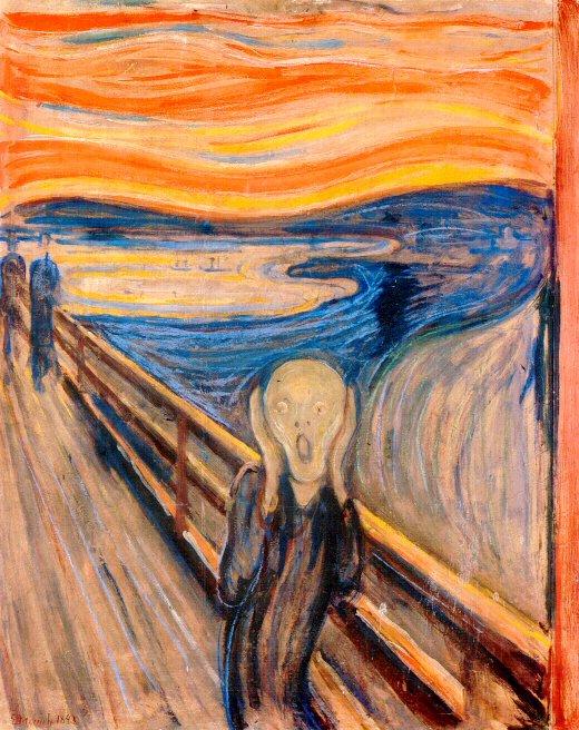 Filoarte Garoe: El grito. Munch