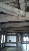 Estructura interior de madera