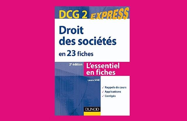 DCG 2 Droit des Sociétés en 23 Fiches PDF