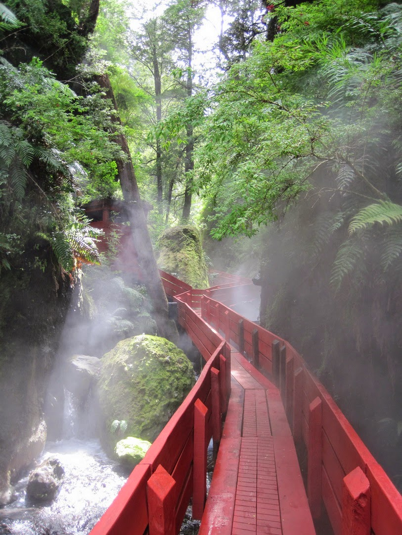10 Best Adventure Holiday Destinations | Red Bridge, Coñaripe, Chile