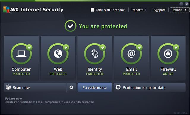 AVG Internet Security 16.81.7639