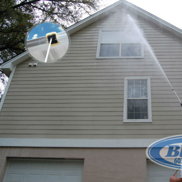 Pressure Washing Home Residential Service