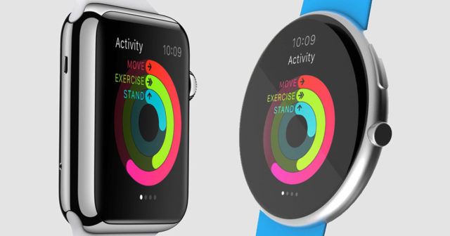 Apple-Watch-rectangular-vs-circular-640x336 Apple Watch could turn around and change its design radically Technology