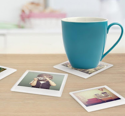 Instant Glass Coasters