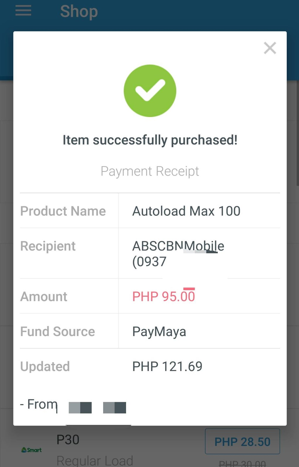 load abs cbn mobile sim for less using paymaya