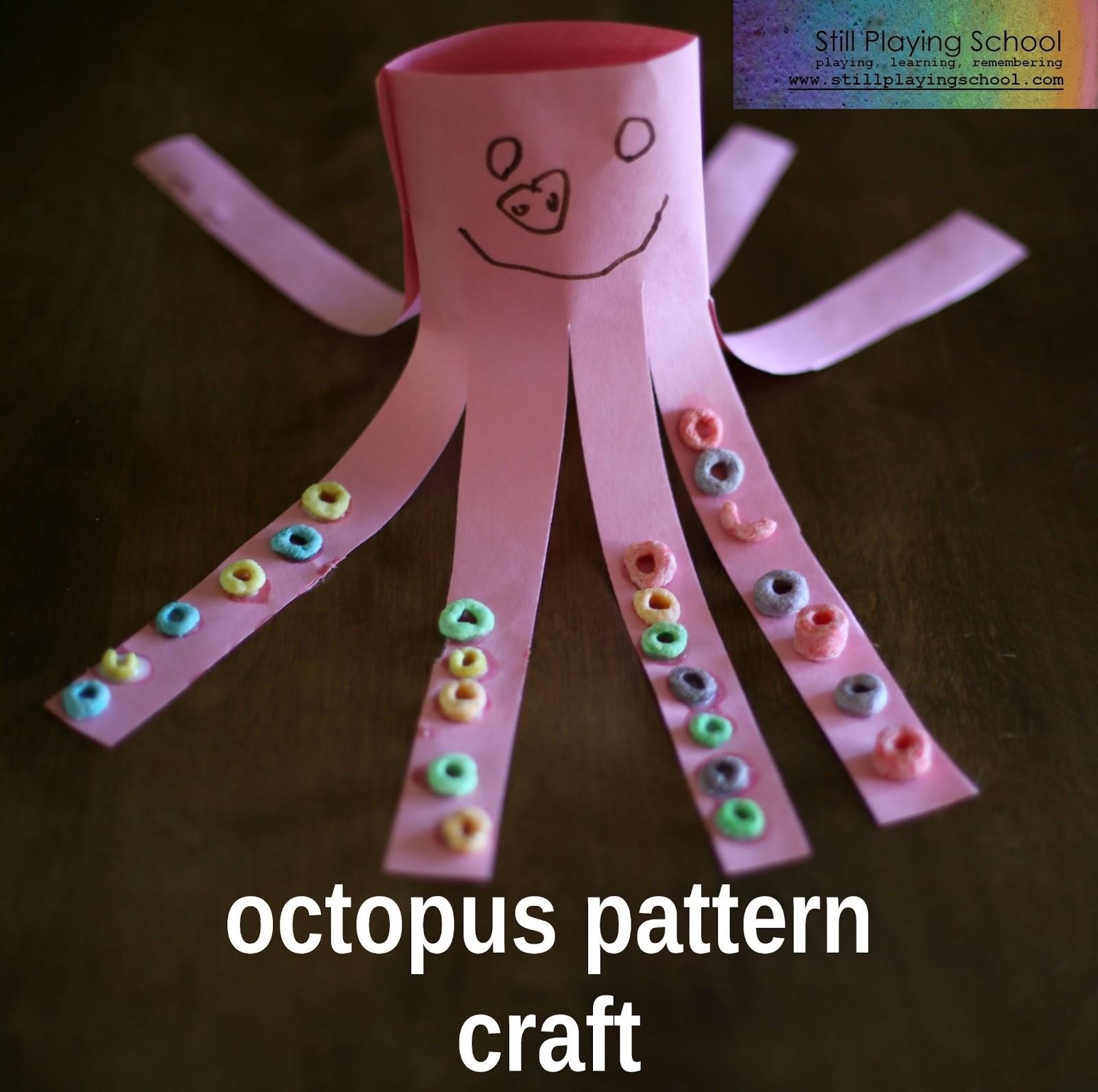 Octopus Pattern Craft